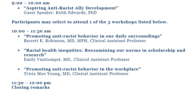 Faculty Advancing Medical Education (FAME) Diversity, Equity & Inclusion Agenda